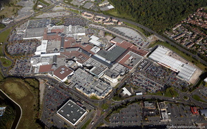 Merryhill Shopping Centre  aerial photograph