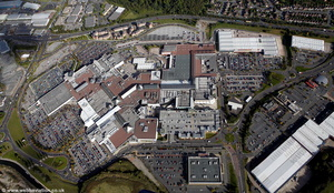 Merry Hill Shopping Centre  aerial photograph