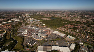 Merry Hill Shopping Centre  from the air