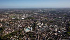Primrose Hill, Dudley from the air