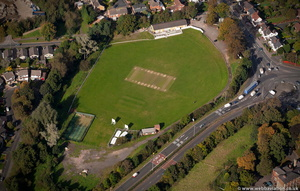 Seth Somers Park  Halesowen  from the air