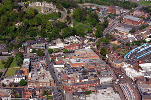 Dudley West Midlands aerial photograph