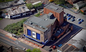 former Hippodrome Cinema Dudley   West Midlands   from the air