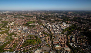 Cradley Heath from the air