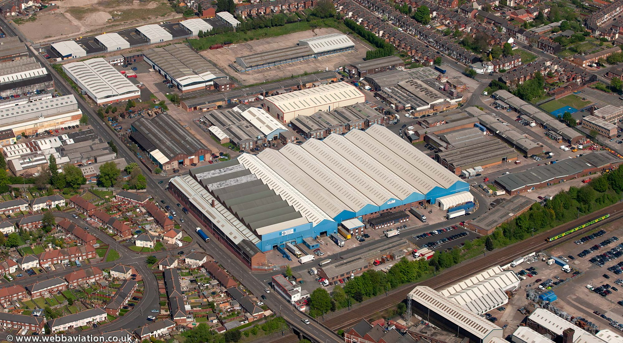Middlemore Industrial Estate, Smethwick  from the air