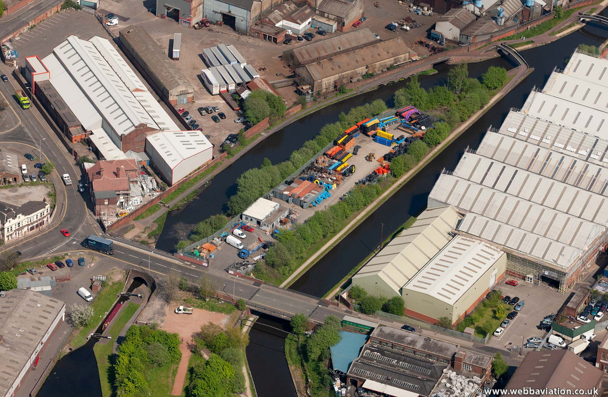 Smethwick Junction  from the air
