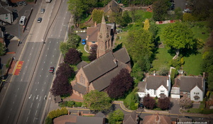 Wednesbury West Midlands aerial photograph