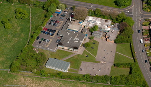 Sandwell Community School West Bromwich from the air