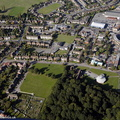 Olton Solihull  from the air