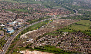 Bescot Yard Walsall  from the air