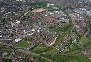 Walsall West Midlands aerial photograph