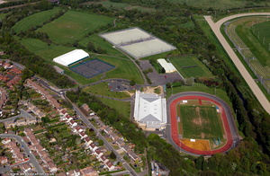 Aldersley Leisure Village from the air