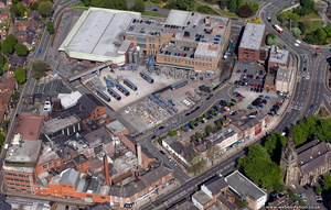 Banks's Park Brewery Wolverhampton   from the air