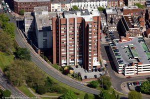 TheStudios24 / Construction Hous Wolverhampton from the air