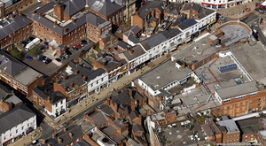 Darlington St Wolverhampton from the air