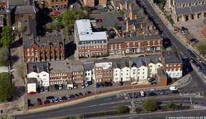George Street, Wolverhampton from the air
