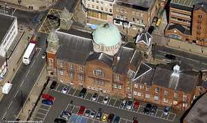 Darlington Street Methodist Church Wolverhamptonfrom the air