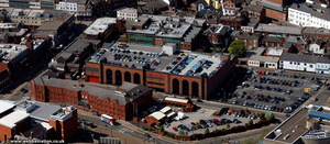 Tower Street car park Wolverhampton  from the air