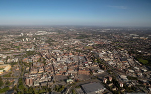 Wolverhampton from the air