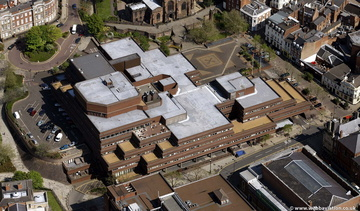 Wolverhampton West Midlands aerial photograph