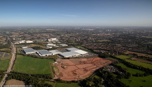 i54 Business Park Western Extension Wolverhampton from the air