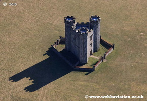 Hiorne Tower, Arundel West Sussex  aerial photograph