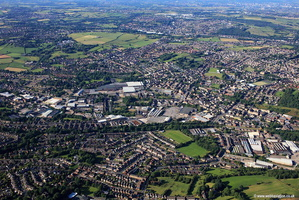 Heckmondwike aerial photograph