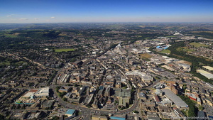 Huddersfield    from the air