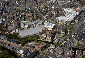Huddersfield University aerial photo