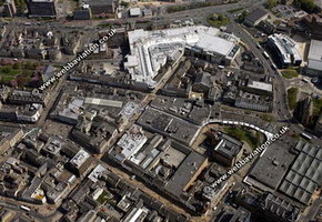 Huddersfield   aerial photo