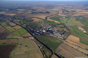 Kellingley Colliery Yorkshire  aerial photograph