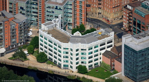 1 Whitehall Quay, Leeds from the air