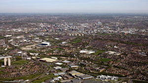 Beeston, Leeds from the air