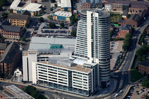 Bridgewater Place Leeds from the air