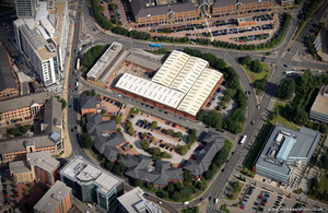 Central Park, Leeds from the air