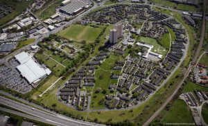 Cottingley, Leeds from the air