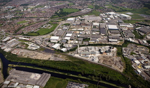 Cross Green Industrial Estate, Leeds  from the air