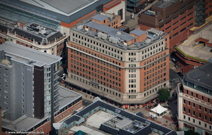 Direct Line House Leeds from the air