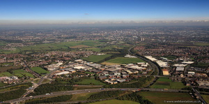 Gildersome Spur Industrial Estate, Leeds,  from the air