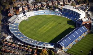 Headingley Cricket Ground from the air