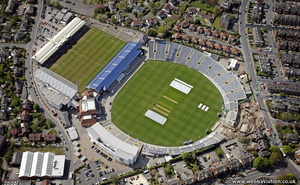 Headingley Stadium from the air