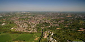 Horsforth Leeds from the air