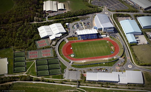 John Charles Centre for Sport, Leeds from the air