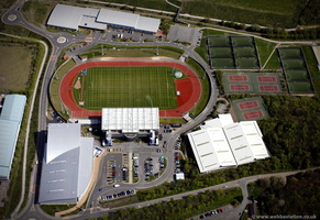 John Charles Centre for Sport from the air