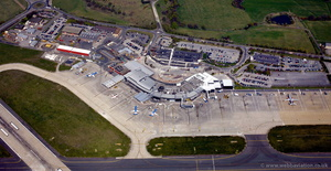 Leeds Bradford Airport from the air
