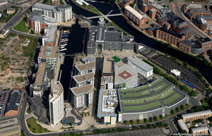 Leeds  Dock from the air