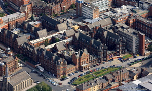 Leeds General Infirmary from the air