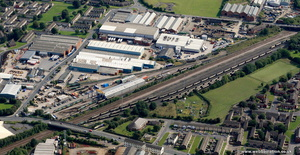 Leeds Midland Road depot from the air