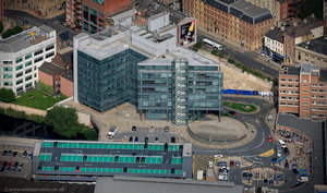 Leeds Princes Exchange from the air