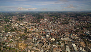 Leeds,  from the air